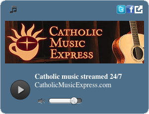 Catholic Music Express streaming radio